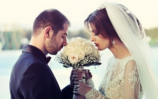 woman marrying her life partner